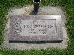 Ella Irene <i>Edwards</i> Cox