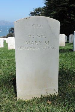 Mary M <i>Crawford</i> Ackerman