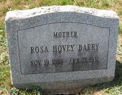 Rosa <i>Hovey</i> Barry