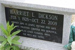 Harriet L. <i>Irvine</i> Dickson