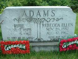 Rebecca Ellen <i>Holbrook</i> Adams