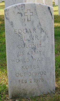 Edgar Allen Blair