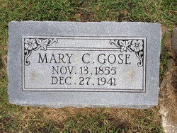 Mary C. (Pete) <i>Hamblin</i> Gose