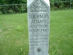 Thurman Adams