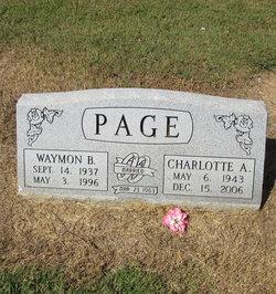 Charlotte Anne <i>Beeson</i> Page