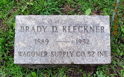 Brady David Kleckner, Sr