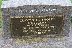 PFC Clayton LeRoy Sholes