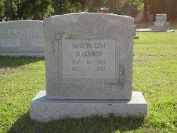 Marion Levi Blackmon