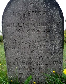 William Dunbar Maxwell