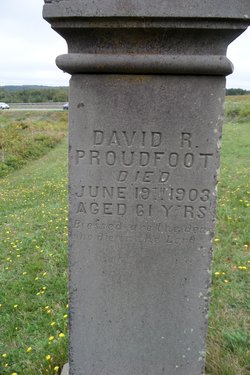 David Reid Proudfoot