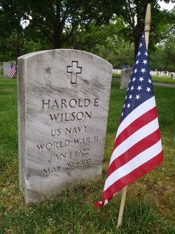Harold Edward Bud Wilson