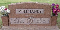 Myrtle B <i>Brown</i> McElhaney