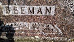 Alice M <i>Powell</i> Beeman