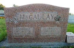 Annie Kathleen <i>Maclean</i> Macaulay