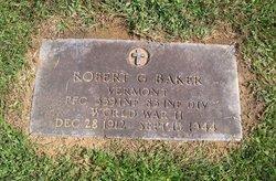 PFC Robert G Baker