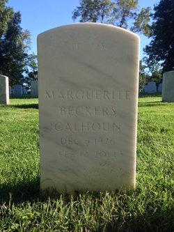 Marguerite <i>Beckers</i> Calhoun
