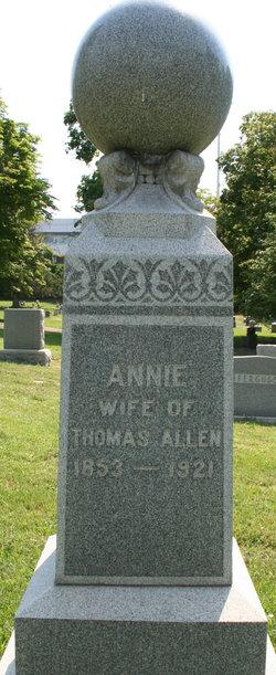 Annie <i>Moore</i> Allen