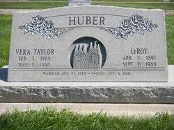 Vera Johannah <i>Taylor</i> Huber