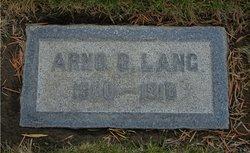 Arno Oscar Lang