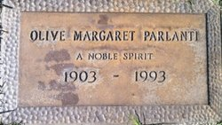 Olive Margaret <i>Reeves</i> Parlanti