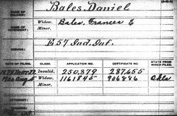 Corp Daniel Bales