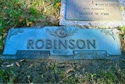 Gertrude Loretta <i>Hunt</i> Robinson