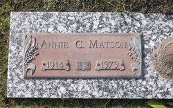 Annie Clara Matson