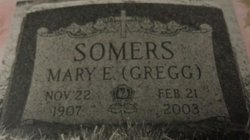 Mary Elizabeth <i>Gregg</i> Somers