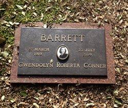 Gwendolyn Roberta <i>Conner</i> Barrett