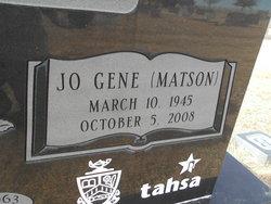 Jo Gene <i>Matson</i> Blackwell