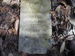 Sallie Martha <i>Braswell</i> Lancaster