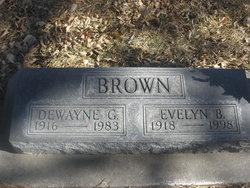 Evelyn B. <i>Jensen</i> Brown