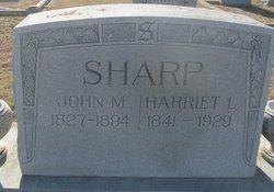 Harriet Louisa <i>Lockridge</i> Sharp