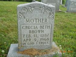 Crecia Beth Brown