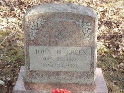 John H Green