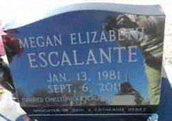 Megan Elizabeth <i>Debes</i> Escalante