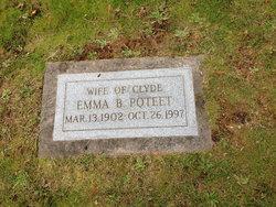 Emma Bertha <i>Theel</i> Poteet