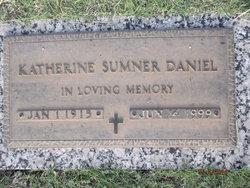 Katherine <i>Sumner</i> Daniel