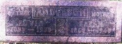 Sarah <i>Shoemaker</i> Anderson