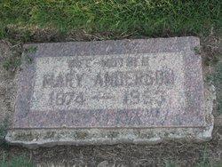 Mary <i>Larson</i> Anderson