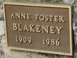 Anne Foster Blakeney