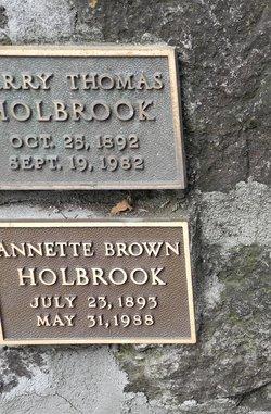 Harry Thomas Holbrook