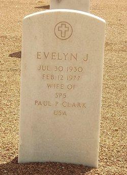 Evelyn Jo-ann <i>Long</i> Clark