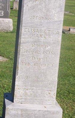 Elizabeth Ann <i>Wright</i> Baker