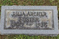Julia Angeline <i>Archer</i> Foster