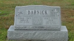 Grace E. <i>Zook</i> Barnick