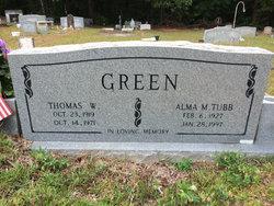 Alma Mae <i>Tubb</i> Green