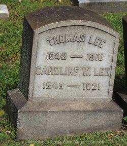 Caroline <i>Worrell</i> Lee