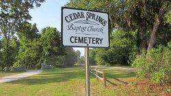Cedar Spring Baptist Church Cemetery