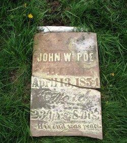 John W Poe